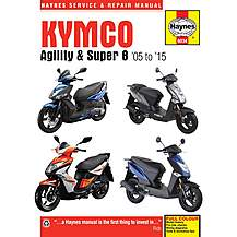 image of Haynes Kymco Agility & Super 8 Scooters (2008-2015) Manual
