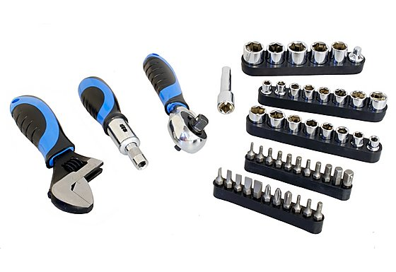 Halfords 48 piece Stubby Tool Set