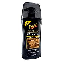 image of Meguiars Gold Class Rich Leather Cleaner & Conditioner 400ml