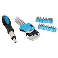 Halfords 30 piece Ratcheting Screwdriver & Hex key Set