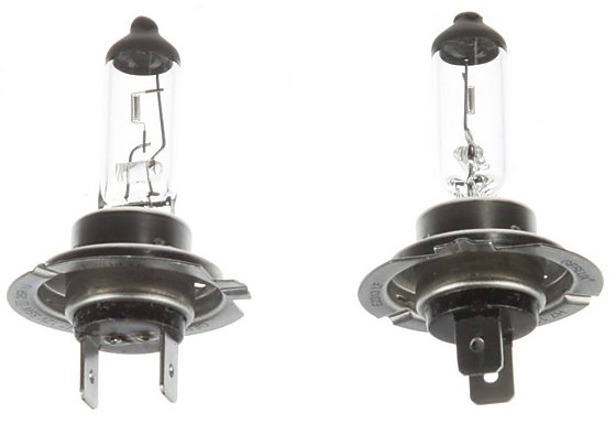 Bosch (477 H7) Halogen Car Headlamp Bulb x 2