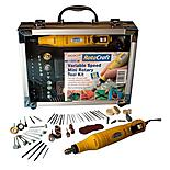 Rotacraft Variable Speed Mini Rotary Tool Kit