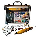 Rotacraft Variable Speed Mini Rotary Tool Kit