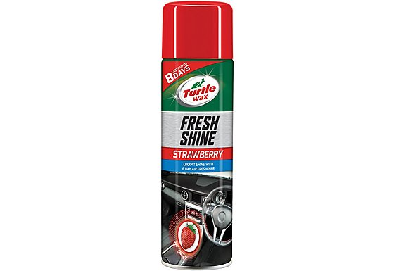 Turtle Wax Fresh Shine Cockpit Shine - Strawberry 500ml
