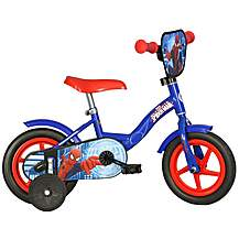 "image of Spiderman Kids Bike - 10"" Wheel"
