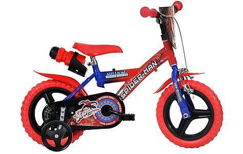 "image of Spiderman Kids Bike - 12"""