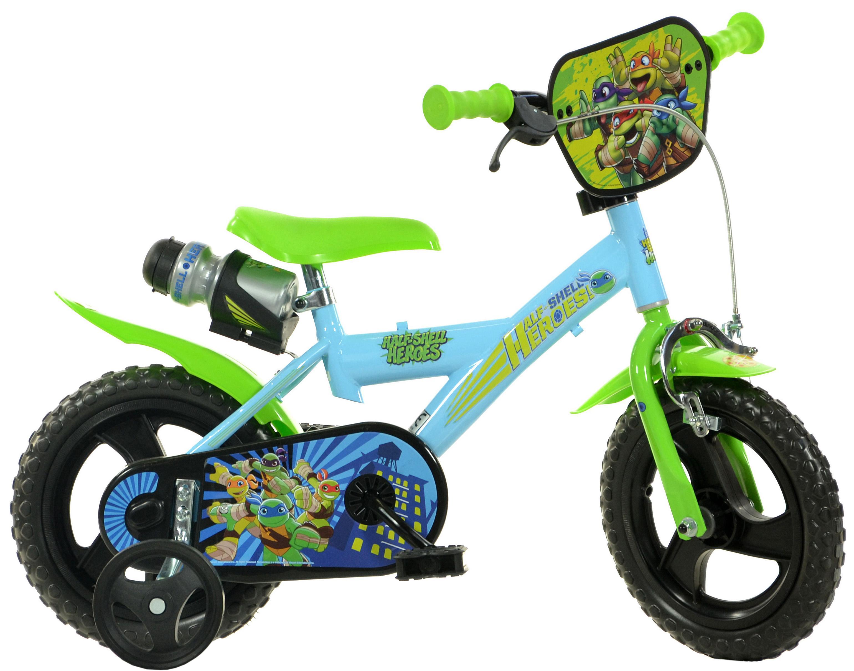 Teenage Mutant Ninja Turtles Kids Bike - 12 inch Wheel
