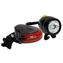 image of Topeak White and Red Bike Light Set