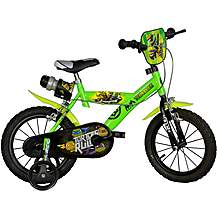 image of Teenage Mutant Ninja Turtles Kids Bike - 14""