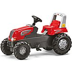 image of Rolly Junior RT Tractor & Farm Trailer Pedal Ride On