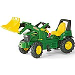 image of Rolly Toys John Deere 7930 Tractor & Loader Pedal Ride On