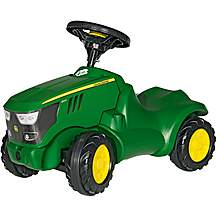 image of Rolly Toys John Deere 6150R Mini Tractor Ride On
