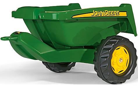 image of Rolly Toys Rolly Kipper John Deere Trailer