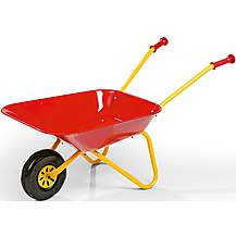 image of Rolly Toys Kids Metal Wheelbarrow