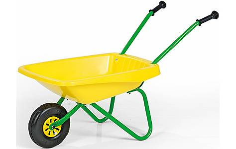 image of Rolly Toys Kids Metal & Plastic Wheelbarrow