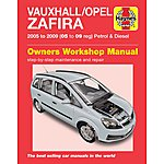 image of Haynes Vauxhall Zafira (05 - 09) Manual