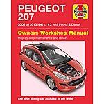 image of Haynes Peugeot 207 (06 - July 09) Manual