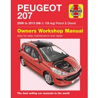 Haynes Peugeot 207 (06 - July 09) Manual
