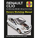 image of Haynes Renault Clio (Oct 05 - May 09) Manual