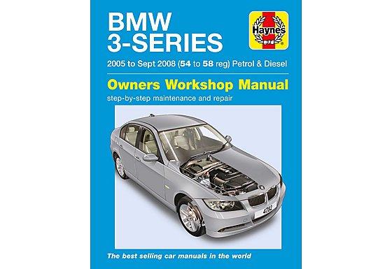 Haynes BMW 3-Series Petrol & Diesel 54 to 58