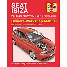 image of Haynes Seat Ibiza Petrol & Diesel (May 02 - Apr 08)