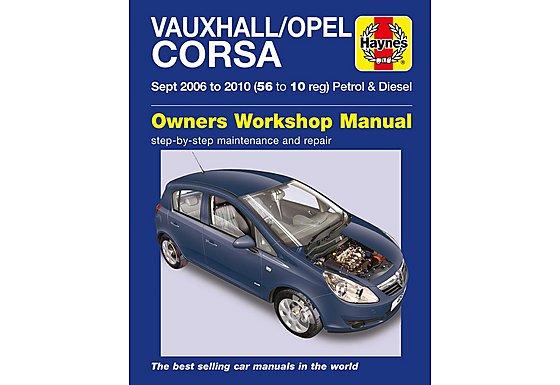 Haynes Vauxhall/Opel Corsa (Sept 06 - 10)