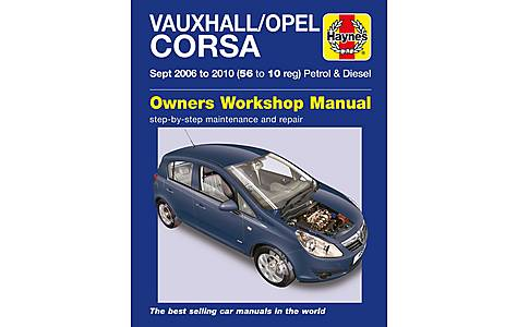 image of Haynes Vauxhall/Opel Corsa (Sept 06 - 10)