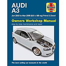 image of Haynes Audi A3 (Jun 03 - Mar 08)