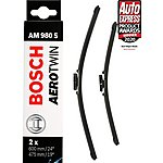 image of Bosch AM980S Wiper Blades - Front Pair
