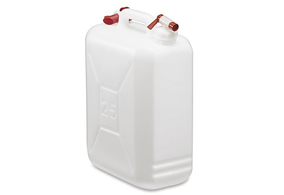 Halfords 25 Litre Jerrycan with Tap
