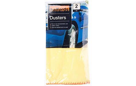 image of Halfords Dusters 2 Pack