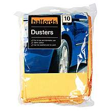 image of Halfords Dusters 10 Pack