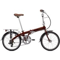 Bickerton Junction 1707 Country Folding Bike - Red