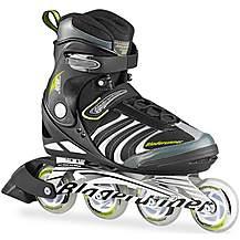 image of BR15 Formula 82 Inline Skates - Black & Green