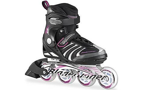 image of BR15 Formula 82 Inline Skates  - Black & Purple