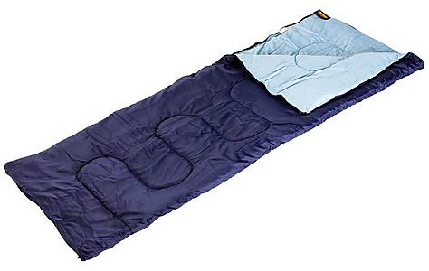 image of Halfords Envelope Sleeping Bag 1.2kgs