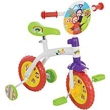 "image of Teletubbies 2in1 10"" Kids Training Bike"