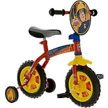 "image of Fireman Sam 2in1 10"" Training Kids Bike"