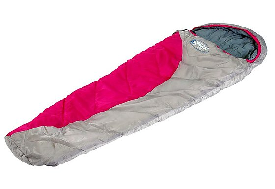 Urban Escape Junior Tahoe Mummy Sleeping Bag Pink