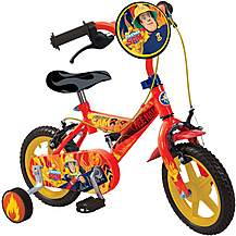 "image of Fireman Sam Kids Bike - 12"" Wheel"