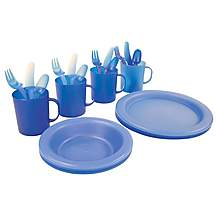 image of Halfords 24 Piece Picnic Dining Set