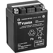 image of Yuasa YTX14AHL-BS 12V High Performance Maintenance Free VRLA Battery