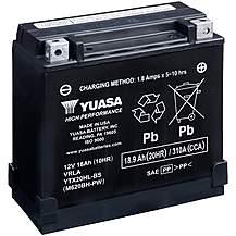 image of Yuasa YTX20HL-BS-PW(CP) 12V High Performance Maintenance Free VRLA Battery