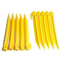 image of Halfords Plastic Power Tent Pegs 10 Pack