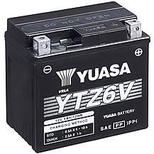 image of Yuasa YTZ6V 12V High Performance Maintenance Free VRLA Battery