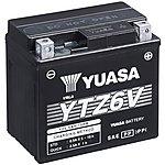 image of Yuasa YTZ6V 12V High Performance Maintenance Free VRLA Battery