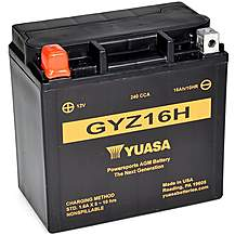 image of Yuasa GYZ16H 12V High Performance Maintenance Free VRLA Battery