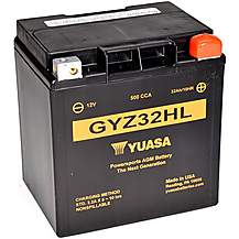 image of Yuasa GYZ32HL 12V High Performance Maintenance Free VRLA Battery