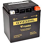 image of Yuasa GYZ32HL 12V High Performance Maintenance Free VRLA Battery