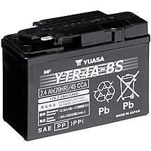 image of Yuasa YTR4A-BS 12V Maintenance Free VRLA Battery